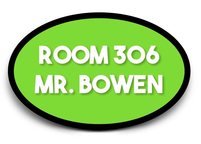 Mr. Bowen's Class Blog